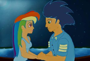 Kiss the Girl by craZ4knux