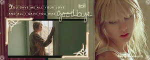 All I gave you was goodbye GIF by Fairy-T-ale