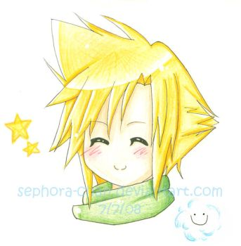 Cloud :3 -Crisis Core- by Sephora-chan