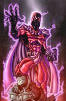 Magneto by sketchheavy colored by Dany-Morales