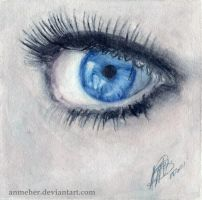 Eye by anmeher