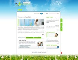 Ever Cool Website Template by Areeb89