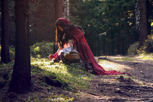 Red Riding Hood 1 by EvaHlavataP