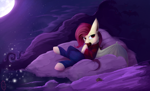 Flutterbat or...Marceline? by PFJerk