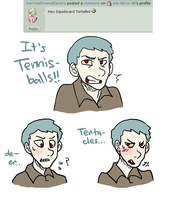 Ask 31~ Squidward by Ask-NEOs-SB
