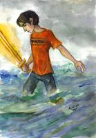 Son of Poseidon by kykywka