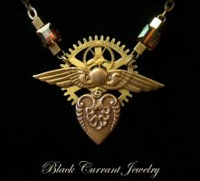 Steampunk Heart by blackcurrantjewelry