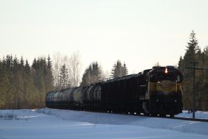 Stock - freight train 1 by triinustock