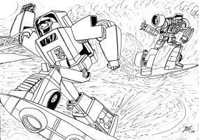 Surf's Up, Minibots by ArwingPilot114