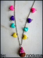 My first necklace by riOtkittin