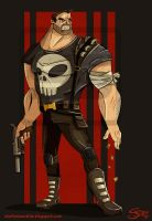 The Punisher by clockworkBAT