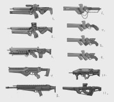 Weapon Sheet 4 by ModalMechanica