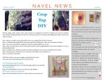 Volume 1, Issue #1, Page 1 by Navel-News