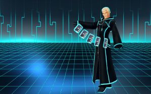 Tron Luxord wallpaper by RoxasTsuna