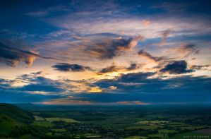 The Edge of The Downs by diado