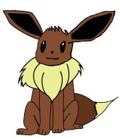 Cute Eevee, Graphicly made by AmaterasuDS