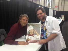 Me and Hannibal and my Hannibal art! by Kyohazard