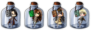 [Bottle] Commission pack 3 by GazeRei