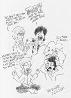 The Beatles Fun Drug Time by WolverFox