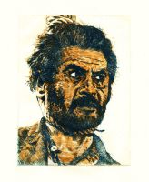 Tuco (The good, the bad and the ugly) by Trunnec