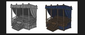 Project concept sketch_Venice carnevale asset 3 by MoonLightRose17