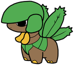 Tropius Pokedoll Art by methuselah-alchemist