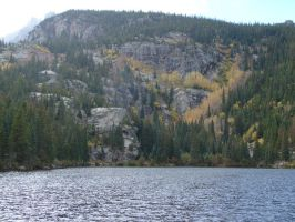 Mountain Lake by Tymuthus