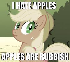 I Hate Apples by KaraTheBlack
