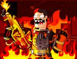 The flames! Oh, the glorious flames! by Pvt-Arturo