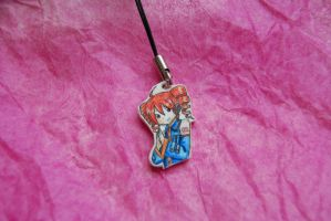 kasane teto phone charm by olive-happy