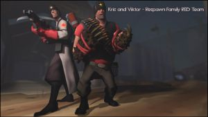 SFM Poster: Kris and Viktor by PatrickJr