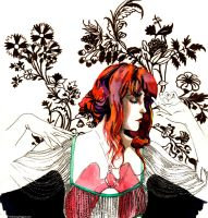 Florence + the Machine's Lungs by likeabalalaika
