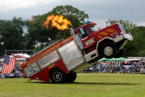 Wheelie Fire Truck 06 by gopherboy76