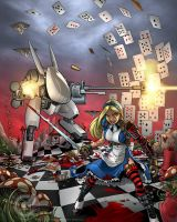 Wonderland Wars by GarthFT