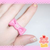 CC - Ribbon Ring by neko-crafts