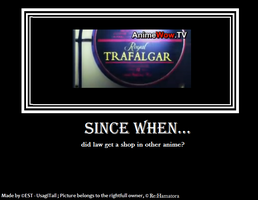 Demotivational poster - Re:Hamatora by UsagiTail