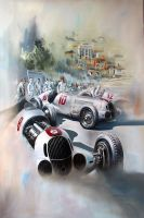 The Silver Arrows by donpackwood