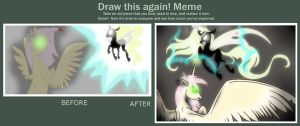Meme(Before and After) - Never Trust Appearances by pegasus20101000