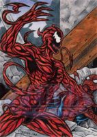 Carnage - Sketch Card by tonyperna