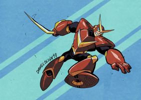 Quickman by weremole