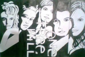 one tree hill Drawing by brucas