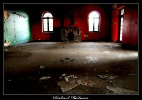 Decaying hospital by DeclandDeadpetals