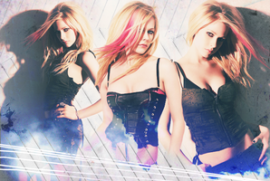 Avril Lavinge by Xx-Panic-xX
