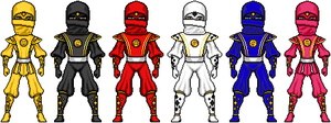 The Ninja Rangers by MegaZeo