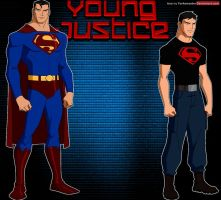 Young Justice: Superman and Superboy by YorkeMaster