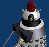 The dalek wears the fez by Superman999