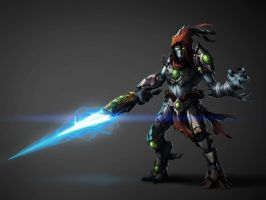 Tar'Zaresh - Last of the Protoss by Kuren