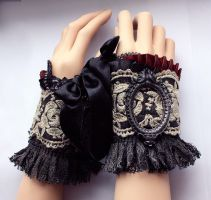 Rococo mittens I by Pinkabsinthe
