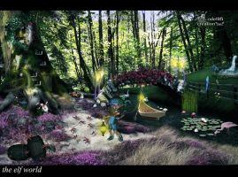 the elf world by odel95