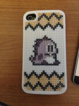 Cross-Stitch iPhone Cover by LilyAnne4455